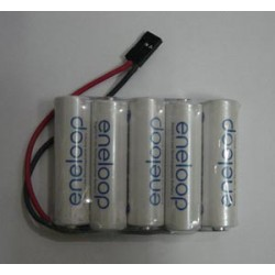 Pack 5 elementos Eneloop AA