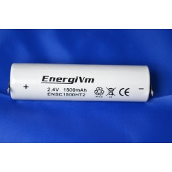 Pack (baston) de 2,4V 1500mAh